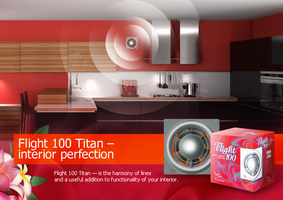 Flight 100 Titan – interior perfection